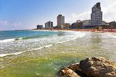 Magnificent beach in Tel Aviv