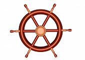 Ships Steering Wheel Vector