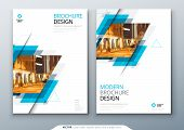 Brochure Template Layout Design. Corporate Business Annual Report, Catalog, Magazine, Flyer Mockup.  poster