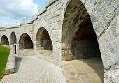 granite interior of Fort Knox