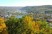 Allegheny River through Warren, Pa