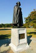Major General Friedrich Wilhelm Baron Von Steuben statue