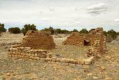 desert settler cabin ruins