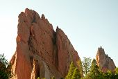 Garden of the Gods rock towers