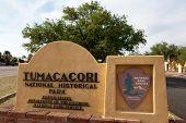 Tumac�¡cori National Historical Park sign