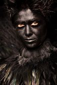 foto of azazel  - Glare look of harpy  - JPG