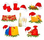 foto of polly  - Set of Christmas icons - JPG