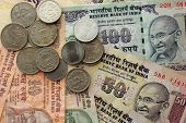 pic of indian money  - indian money - JPG