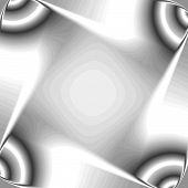 Chrom-Quadrate-Hintergrund