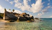 Taking In The Baths Of Virgin Gorda