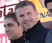 MOSCOW, RUSSIA - FEBRUARY 23: Scottish racing driver David Coulthard during the 21st traditional