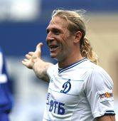 MOSCOW - JULY 3: Dynamo Moscow's forward Andrei Voronin in the VTB Lev Yashin Cup: FC Dynamo Moscow