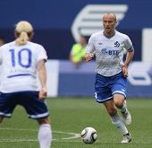 MOSCOW - JULY 3: Dinamo's midfielder Dmitry Hohlov in the VTB Lev Yashin Cup: FC Dynamo Moscow vs. F