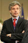 Moscú - el 8 de julio: Dr.Harald Dossi, Director General de coordinación Federal austríaco, durante una 15C