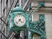 Marshall Fields Clock in Chicago