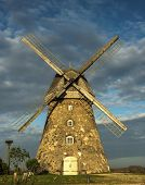 Windmill, is the so-called Dutch mill, built in the 1852. Location: in Latvia - Araishi
