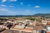 Pequeño pueblo de español en Cataluña