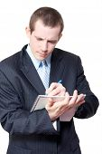 Male Personal Assistant Setting Appointments