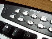 Close Up Of Keyboard Internet Buttons