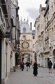 Le Gros Horloge; Rouen, Frankreich