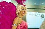 Model Beautiful Photokina 2008 Pink Angel