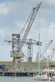 Cranes In The Dockyard