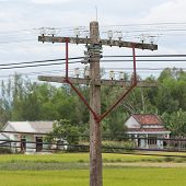 Small Electrical Tower In Vietnam
