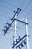 Electric Power Supply Pole