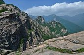 picture of seoraksan  - Panoramic view of National park Seoraksan South Korea - JPG