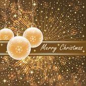 Christmas Balls Gold