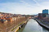 View Of Bilbao, Vizcaya, Spain