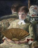 Portrait Of A Lady  Miss Mary Ellison By Mary Cassatt