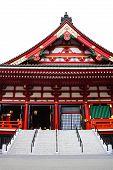 Pediment on the Side Of Sensoji Asakusa Temple