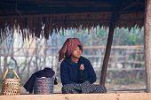 Pa-o Tribe Woman