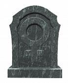 Female Symbol On Gravestone