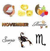 November Icons