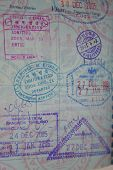 Multi Country Entry Stamps