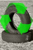 Recycle Tires Bw