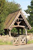Lychgate at Madresfield Church, England
