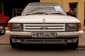 front of old retro car Dorchester IV