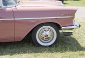 1957 Pink Chevy Bel Air Front Panel