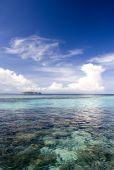 Tropical Island And Open Sea
