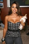 Vida Guerra  at the party to celebrate the 100th Episode of 'Dog Whisperer'. Boulevard 3, Hollywood, CA. 09-17-08