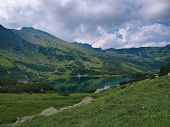 Pond In The Western Tatras
