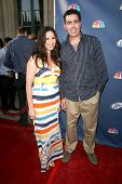 Adam Carolla and Lynette Helen Paradise  At NBC's Fall Premiere Party. Boulevard 3, Hollywood, CA. 0
