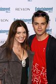Bobbi Sue Luther and Thomas Dekker  at Entertainment Weekly's 6th Annual Pre-Emmy Party. Beverly Hil