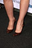 Alexandra Breckenridge's shoes  at Entertainment Weekly's 6th Annual Pre-Emmy Party. Beverly Hills Post Office, Beverly Hills, CA. 09-20-08