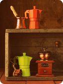 kitchen utensils for coffee