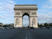 picture of charles de gaulle  - The Arc de Triomphe de l - JPG