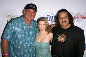 Dennis Hof with Sunny Lane and Ron Jeremy  at the Fox Reality Channel Awards. Avalon Hollywood, Hollywood, CA. 09-24-08